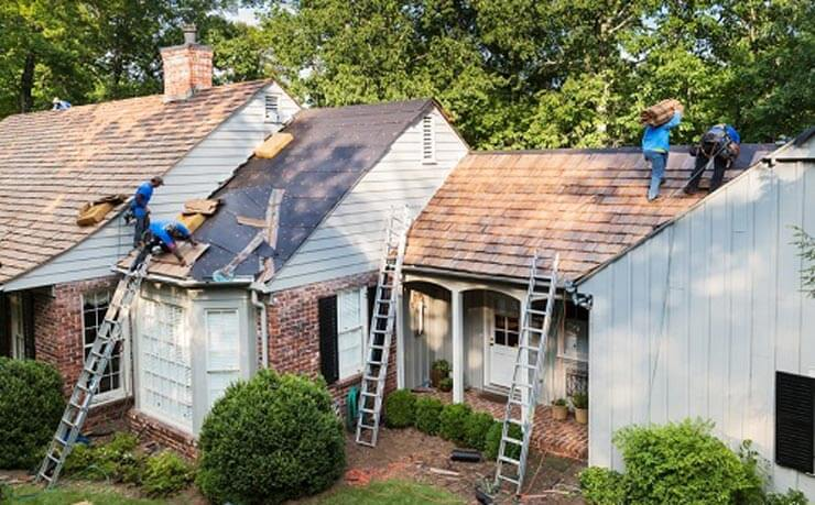 New Roofs Installation